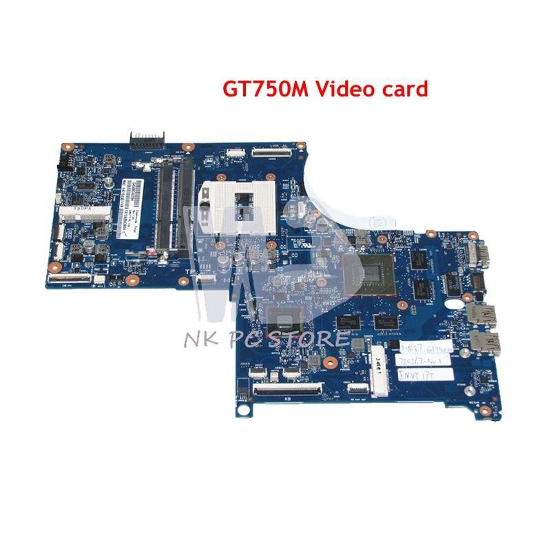 все цены на NOKOTION 720267-501 720267-001 MAIN BOAD For HP Envy QUAD TouchSmart 17 M7 17T Laptop Motherboard HM86 DDR3L GT750M Video card