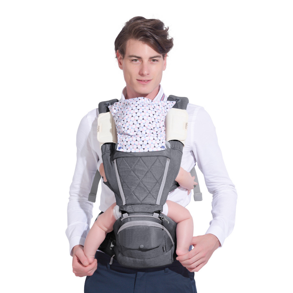 0-36 Months Ergonomic Infant Carrier Classical Expression Manduca Multifunctional Toddler Hipseat Babies Sling Backpack for Mom