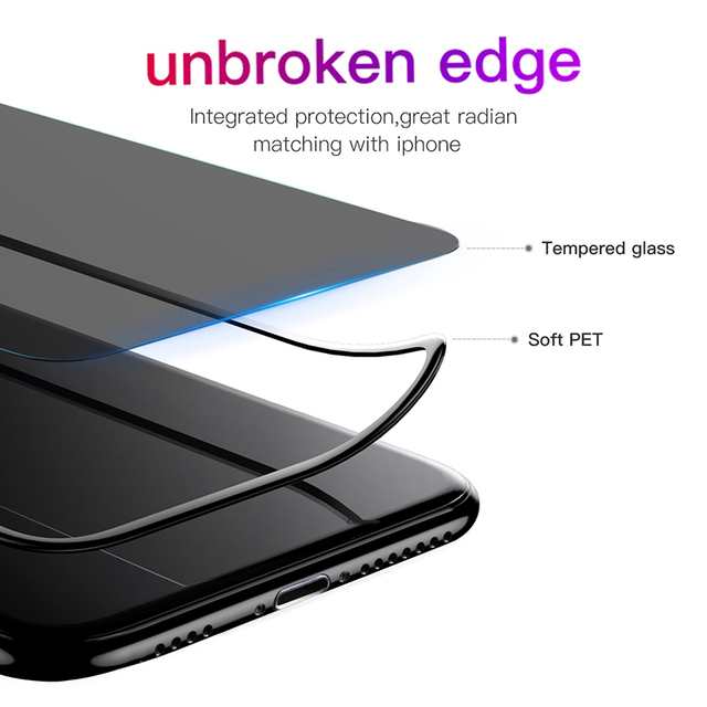 Baseus Privacy Protection Film Screen Protector for iPhone Xs Max Xr X Anti-peep Tempered Glass Protective Cover For iPhone X S 4