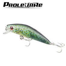 1Pcs Wobbler Crankbaits 7cm 8.2g Painted Road Bait Classic 5 color Fishing Lures VIB Waters Realistic Fake Bait 6 # hook YR-443