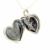 Compatível Com Europeia Jóias Amor Colar Medalhão de Prata com Clear CZ Original 100% 925 Sterling Silver Jóias DIY FLN023