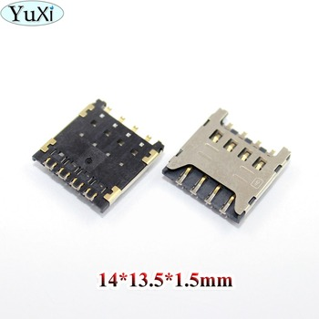 YuXi For Huawei Y625 Y625-U32 Honor 3C HOL t00 U00 T10 U10 for LG F120 F160 Sim Card Reader Tray Holder Connector Socket Slot image