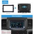 Seicane 2Din Car Fascia FrSeicane ame Installation Dashboard Refitting Bezel Panel For 2013 2014 2015 Dodge Ram 1500 2500 3500