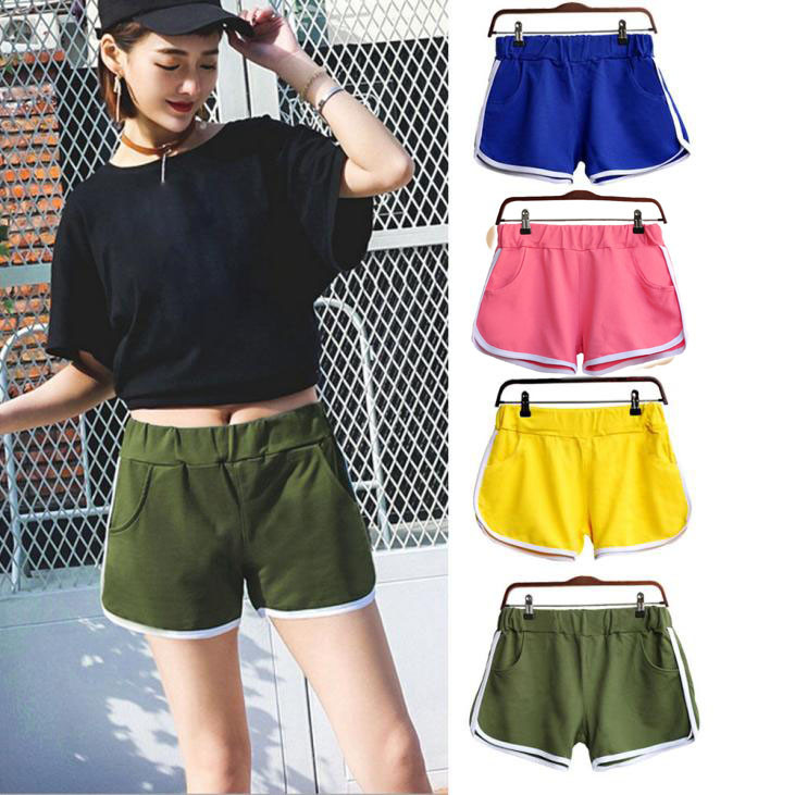 Womail Brand High Quality Swimmer New Summer Pants Women Sports Shorts Gym Workout Waistband Skinny Yoga Short