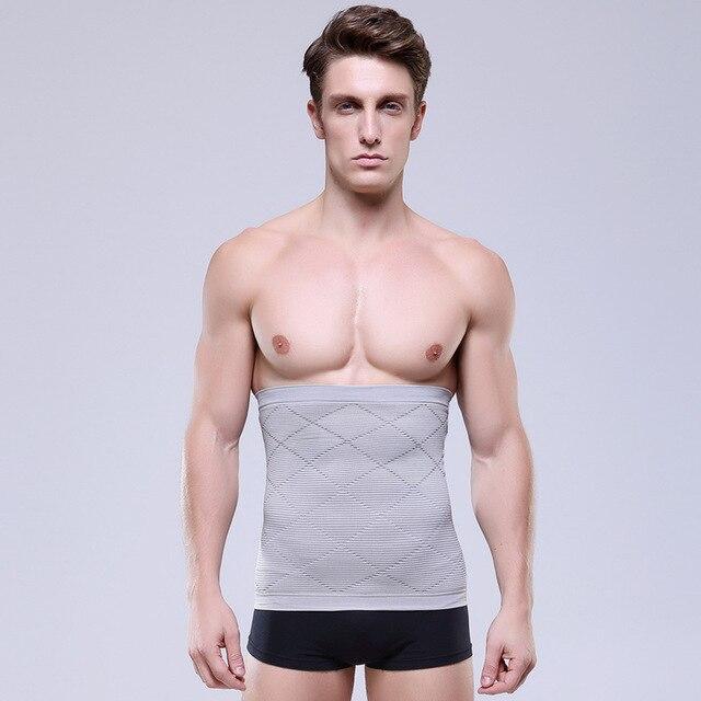 NEW Men Slimming Belt Belly Men's Body Shapers Abdomen Fat Burning Weight Loss Tummy Waist Sweat Corset Trainer Shapewear 1