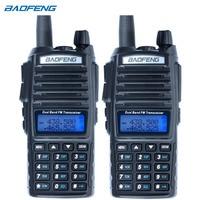 2Pcs Baofeng UV 82 Walkie Talkie CB Radio UV 82 Portable Two Way Radio FM VOX Transceiver Dual Band Long Range UV82 Ham Radios