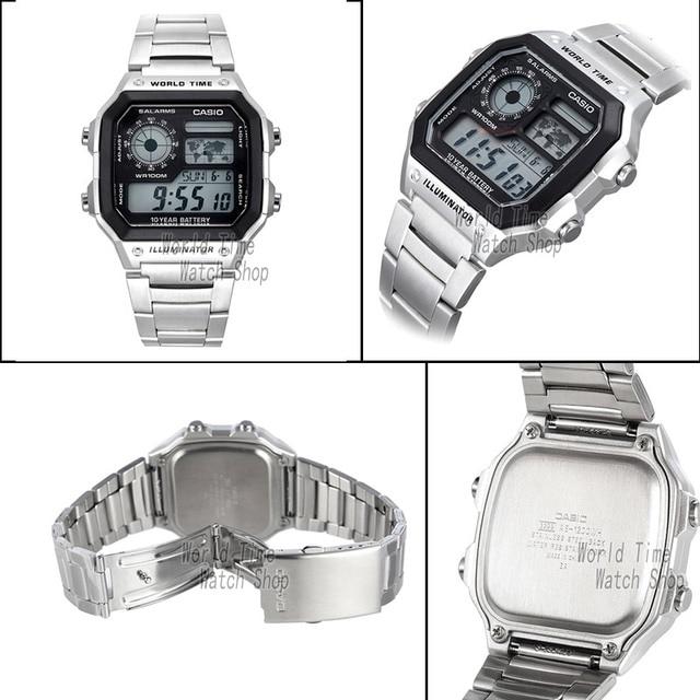 Casio watch men set brand luxury LED digital  3