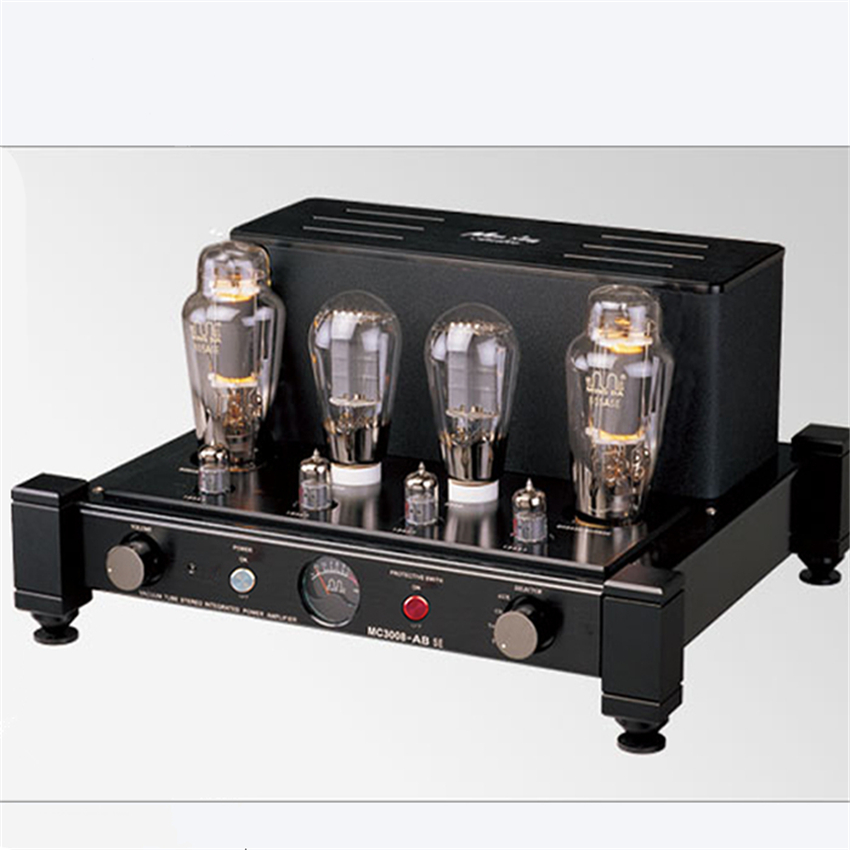 Meixing mingda MC3008-AB SE Single-end Class A Vacuum Tube integrated amplifier PSVANE 300B Push 805ASE Class A power amp 40W*2 tube amplifier hifi shuguang kt100 2 x 15w dual mono block integrated single ended russian 6h1 preamp usa 6ak5 driving amplifier