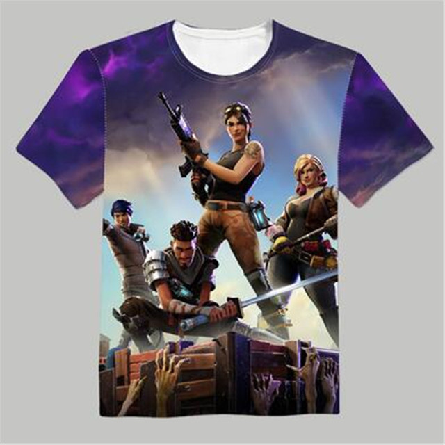 3e6a7b9c9ab2 Woman Man Fortnite Lovely Printing Custom Made T-shirt Tees Fashion Cool  Fancy Tee High Quality Support Custom Christmas Gift