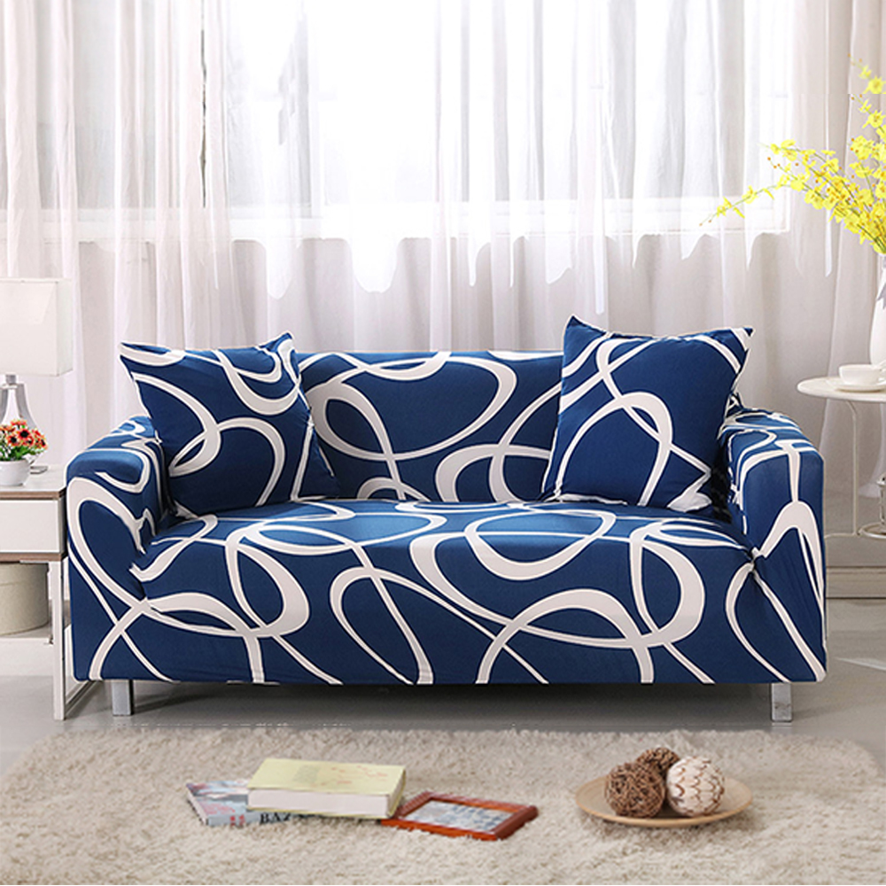 Single sofa chair price - Yazi Sofa Cover For Single Double Seat Slipcover 1 2 3 4 Seater Fit Stretch Dustproof