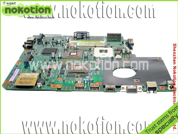 08G2005NM20Q NQYMB1200 for ASUS N50VN motherboard INTEL PM45 NVIDIA GeForce 9650M GT DDR2 mainboard