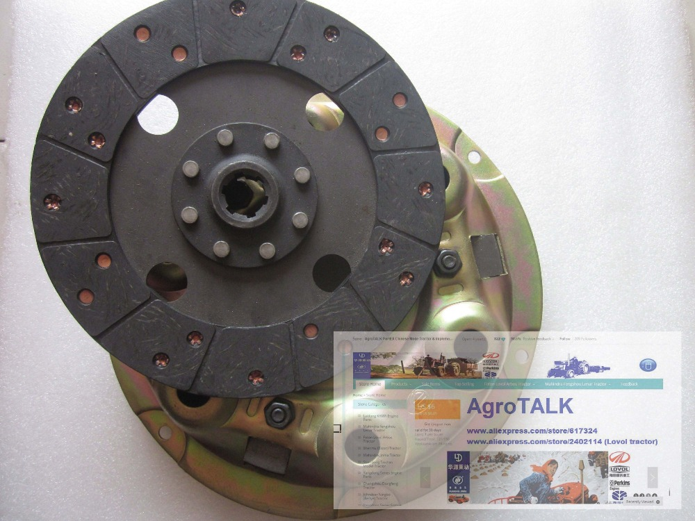 Dongfanghong DFH180 tractor parts, the clutch assembly with driven disc, part number: 18.21.011 driven to distraction