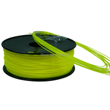 yellow color 3d printer filaments 1kg/2.2lb HIPS 1.75mm/3mm Plastics Resin Consumables For MakerBot RepRap UP Mendel