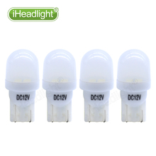 10pcs T10 W5W 194 168 12V LED Car Parking Side License Plate Bulb Interior Reading Lamp Brake  Wedge Dome Turn Signal Light фонарь olight s1 baton