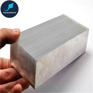 100/130/150/200/300x69x36 MM Electronic Radiator Aluminum Dense teeth