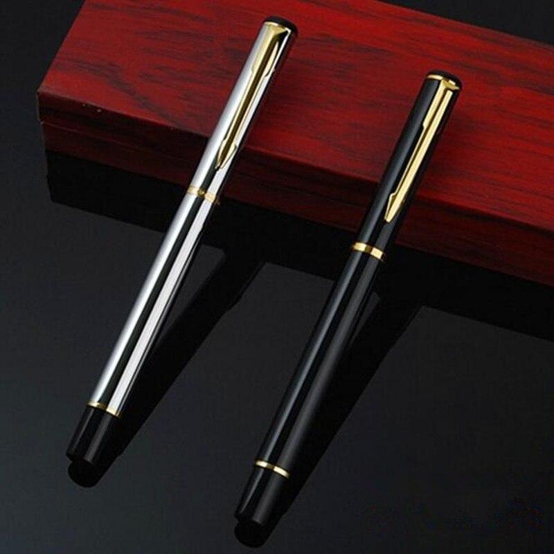 0.5mm Metal Roller Ball Pen Luxury Ballpoint Pen For Business Writing Gift  Office School School Supplies Free Shipping 1712