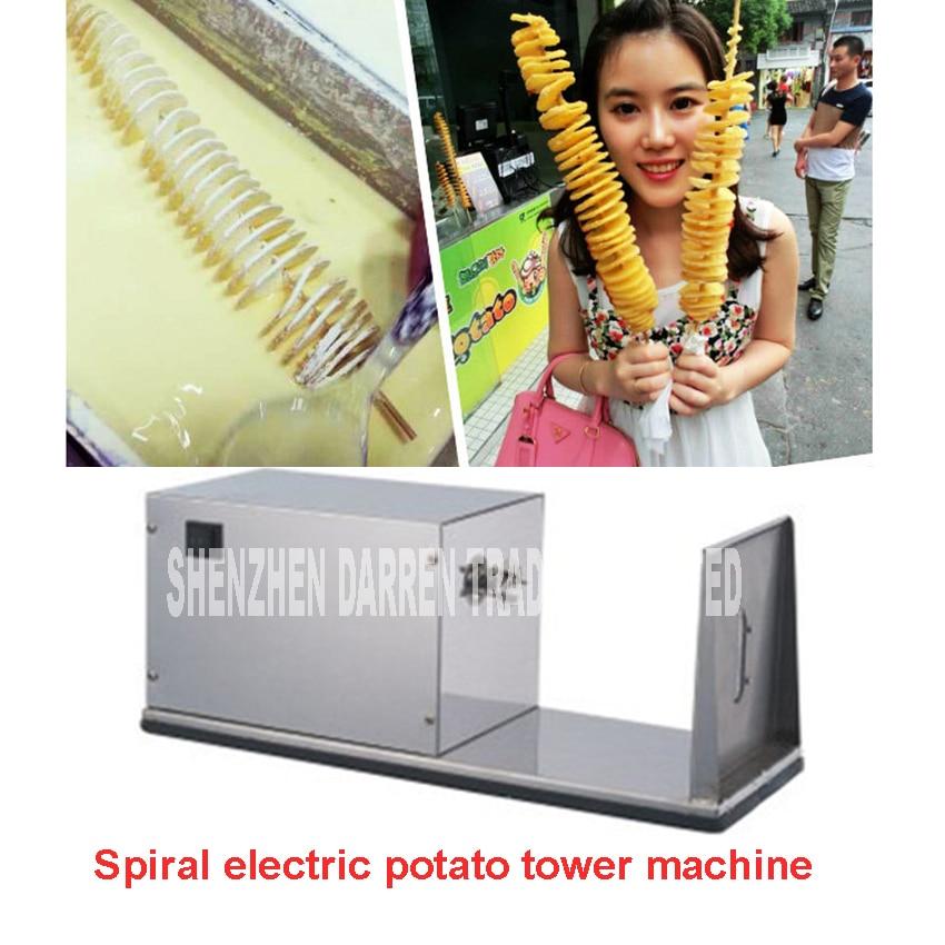 online kaufen gro handel elektrische spirale kartoffelschneider aus china elektrische spirale. Black Bedroom Furniture Sets. Home Design Ideas