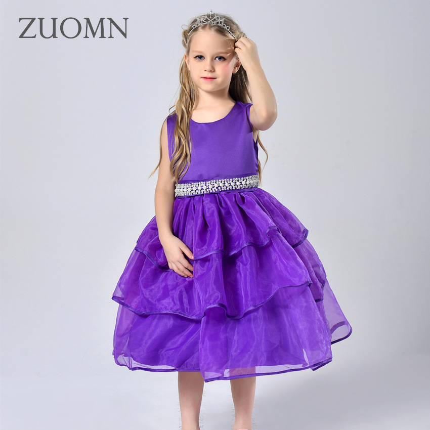 Girls Dress Party and Wedding Dresses Luxury Dresses Baby Girl Clothes Birthday Princess Dress Kids Clothes Spring GH364 baby girl birthday princess dress spring