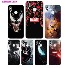 Silicone Case Venom for Huawei P Smart 2019 Plus P30 P20 P10 P9 P8 Lite Mate 20 10 Pro Lite Nova 3i Cover цены