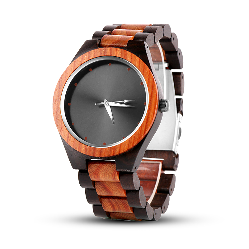 2018 Top Luxury Wood Wrist Watch Unique Wood Watches Fashion Wooden Men's Watch Men Watch Wooden Clock saat reloj hombre relogio sihaixin men watch de wood top brand red calender special watches for male with unique design all wooden clock man relogio