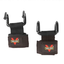 1 Pair Weight Lifting Gloves Steel Hook Grips Fitness Gym Wr