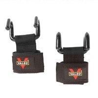 1 Paire Réglable Poids De Levage Crochet En Acier Poignées Fitness Gym Poignet Wraps Force Formation Bretelles de Soutien Poids Bracelets