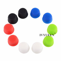 IVYUEEN 2 pcs Silicone Analog Grip Thumbstick Thumb Sticks Extra Cover High Enhancements For Dualshock 4 PS4 Pro Slim Controller 1