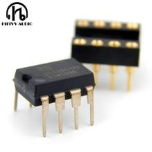 Amplificador de doble canal OP OPA2604AP opa2604 op amp, amplificador operativo, regalo de zócalo IC chapado en oro