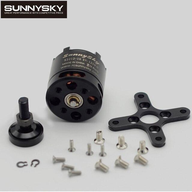 4pcs/lot 100% Original SUNNYSKY X2212 980KV/1250KV/KV1400/2450KV Brushless Motor (Short shaft )Quad-Hexa copter