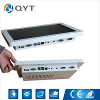 Desktop Computer With Cpu C1037U 1 8GHz 15 LED Panel Screen All In One Computer Touch