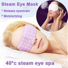 1 caja = 7 bolsas fragancia cálida generando vapor Del Cuidado Del Ojo máscara de ojo Ojo Spa hidratante oscuro ojos parche más cálido