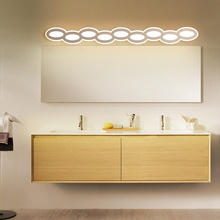 New Arrival 40cm 60cm 80cm 100cm 120cm Modern LED Mirror Wall Light AC90-260V Cosmetic Acrylic Wall lamp Bathroom Lighting 40cm 120cm mirror light led bathroom wall lamp mirror glass waterproof anti fog brief modern aluminum acrylic cabinet led light