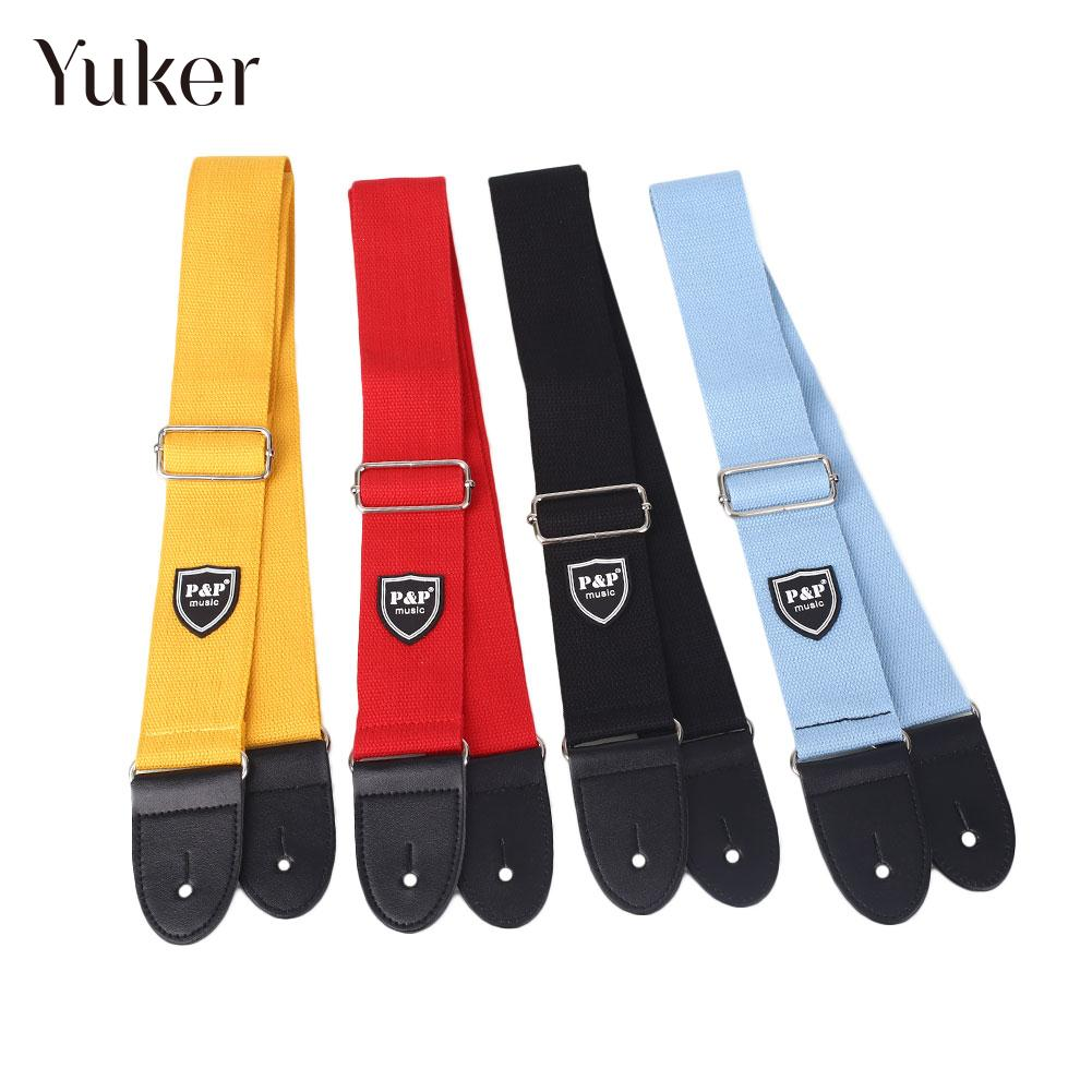 Cotton 4 Color Guitar Strap String Instruments Braces Part for PP Durable