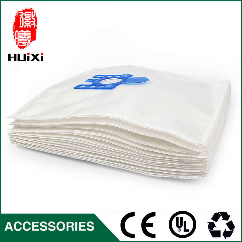 15pcs Cloth Dust Bag Cost-effective High-Filtration Microfiber Bag For Miele GN Hoover Dust Bags S5210 S5261 TT5000 S2121 Series for miele fjm dust bag with 10 dust bag for miele fjm gn type vacuum cleaner hoover dust bags