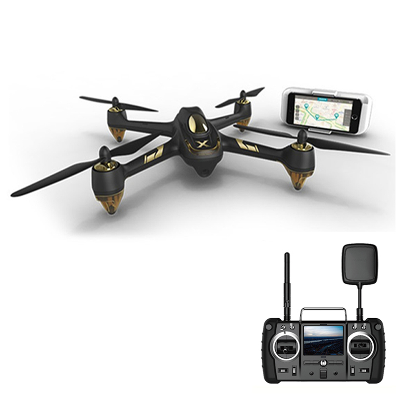 (In Stock) <font><b>Hubsan</b></font> X4 AIR <font><b>H501A</b></font>+H906A Transmitter with HT500 Relay WIFI FPV Brushless RC Quadcopter With 1080P Camera Drone RTF image