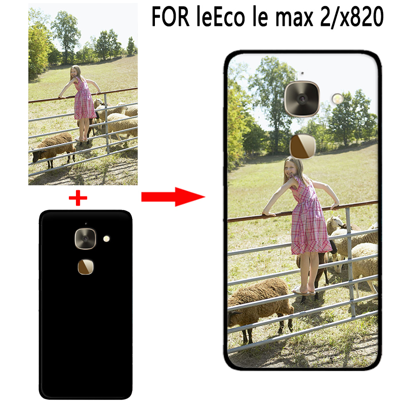 mosirui Personalized Customized DIY Case FOR leEco le max2 x820 HD UV Printing Cover Soft TPU Silicone Back Case(China)