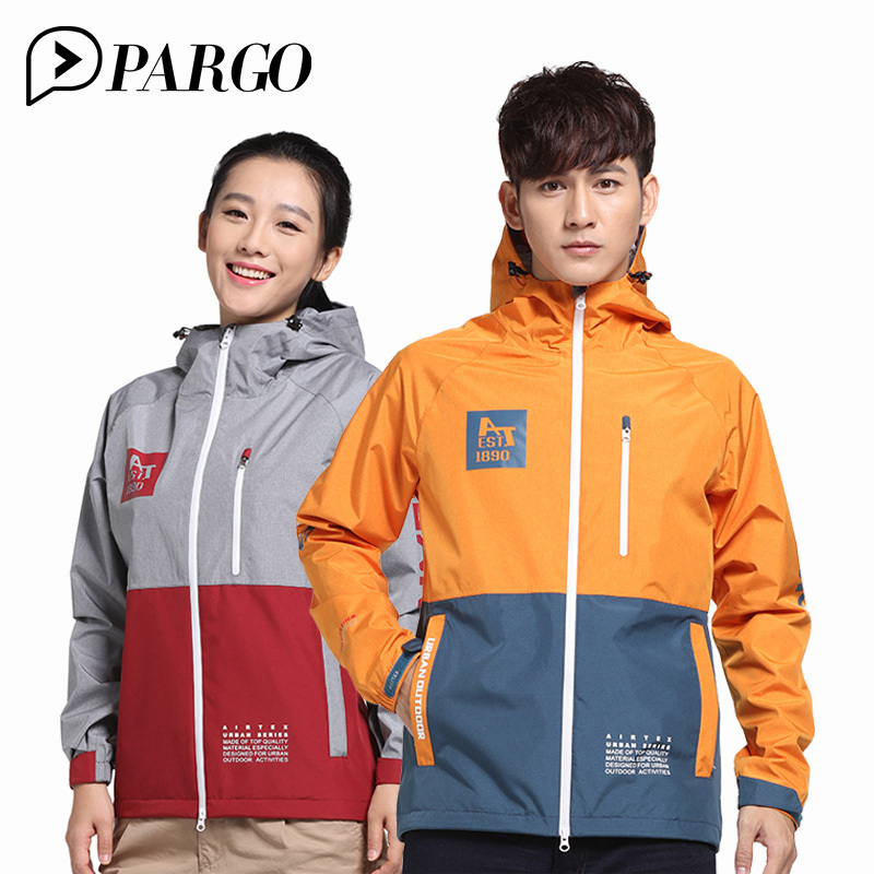 PARGO Waterproof Jacket Man Women Hiking Camping Jacket lovers gore-tex Jacket Men Windproof Outdoor Hooded Coat m65 M9065 W9066 viking love gore tex