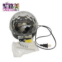 LED disco ball light remote control music stage effect soundlights 18W Bluetooth DJ magic project laser party lights