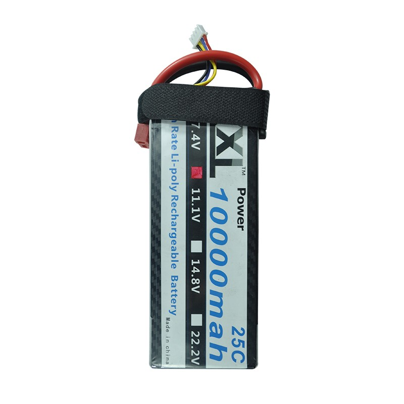 XXL 11 1v 10000mAh 25C 3S Li polymer for font b RC b font Helicopter Car