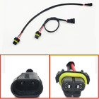 2pcs Car-styling Auto 9006 HB4 Wire Harness HID Xenon Power Cable Connector Ballast Socket HID Wiring relay Connector Adapter