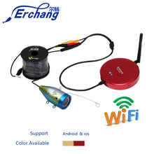 Erchang WIFI Fish Finder Aluminum Alloy Design Body 1000TVL Underwater Fish Camera For IOS Android App