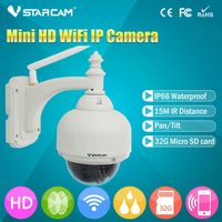 VSTARCAM C7833 Onvif Pan Tilt Outdoor HD IP Camera 720P Wifi Wireless Dome RSTP Onvif Stream