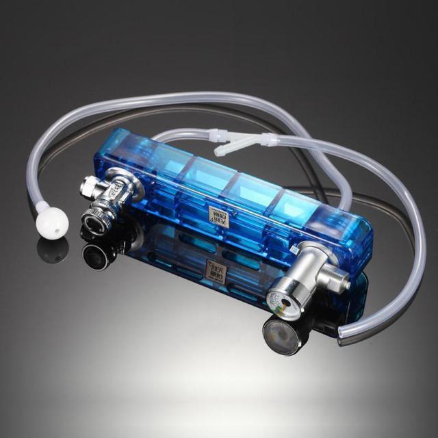 diy d501 co2 aquarium diffuser regulator denerator with connecting