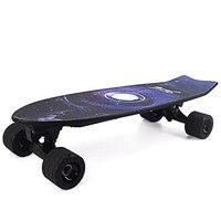 Новый стиль Электрический скейтборд с Беспроводной пульт дистанционного управления Скейтборд скутер Лонгборд скейтборд для взрослых дете