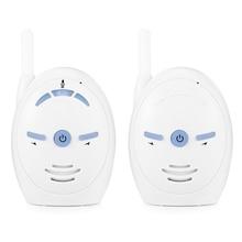 2.4 ghz Wireless Monitor de Bebê Infantil Do Bebê De Áudio Digital Transmissão de Duas Vias Conversa Cristalina Babá Monitor Sensível