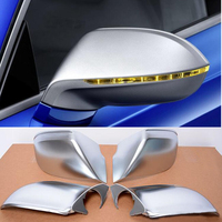 ABS ally chrome full replacement Side Rearview Mirror Covers Caps For Audi A7 S7 S Line RS7 Hatchback 4 Door 2011 2017