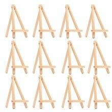 10 шт. детские мини-деревянные мольберт художественная живопись имя карты Стенд Дисплей Держатель рисунок для школы ученик художественные принадлежности,(10-Pack