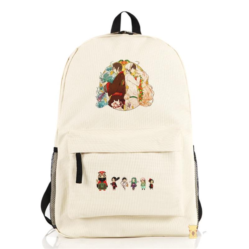 Anime Cosplay Hoozuki no Reitetsu Men's Women's Travel Computer School Bags Backpacks аксессуары для косплея neko cosplay