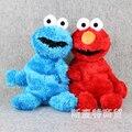 Улица сезам Elmo Плюшевые Рюкзак Cookie Monster Chilren Фаршированные Куклы Плюшевые Сумки 48 СМ