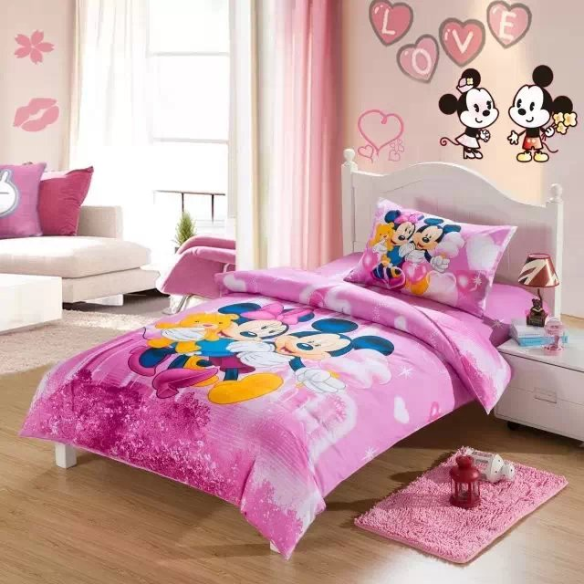 Popular Minnie Mouse Twin Bedding Set Buy Cheap Minnie Mouse Twin Bedding Set Lots From China